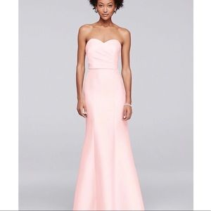 David's Bridal bridesmaid dress- Mikado